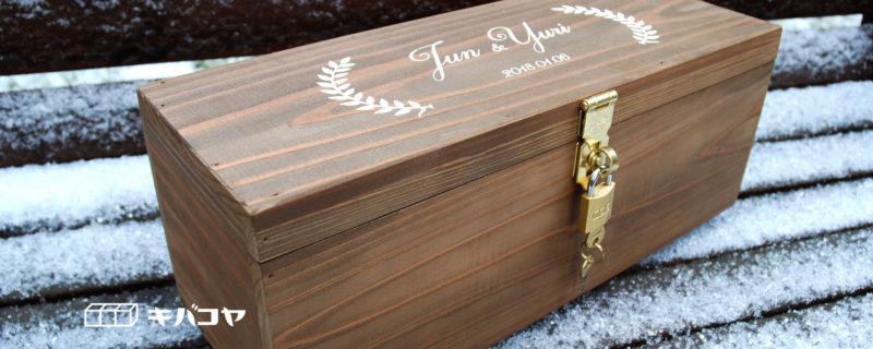 思い出に残る木箱
