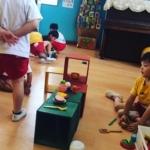 幼稚園キューブボックス